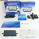 【中古】【訳あり】 本体 PSVita PlayStation Vita Starter Kit(スターターキット) グレイシャー ホワイト(PCHJ-10029)(20160303)