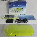 【中古】【訳あり】 本体 PSVita PlayStationVita Wi-Fiモデル ライムグリーン/ホワイト(PCH-2000ZA13)(20131010)