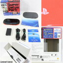 【中古】【訳あり】 本体 PSVita PlayStation Vita Super Value Pack Wi-Fiモデル レッド/ブラック(PCHJ-10018)(20140710)