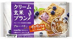 バランスアップクリーム玄米ブランブルーベリー72g(2枚×2袋)【RCP】