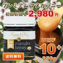 マヌカハニー 10+ 1本から送料無料 初回限定お試し価格 ...