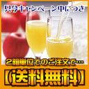 【2箱単位でのご注文で送料無料】りんごジュース(りんごの果汁):ストレート果汁100%【楽ギフ_のし】