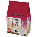 ショッピングアイリスオーヤマ アイリスオーヤマ新鮮パック米 北海道産ゆめぴりか1.8kg(450g×4パック入り)
