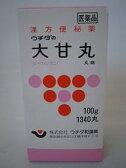 【第2類医薬品】3個セット ウチダの大甘丸 だいかんがん 100g 1340丸 3個セット  漢方薬