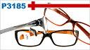 メガネ 度付き/度なし/伊達メガネ/めがね/PCメガネ/眼鏡 2980円/ブルーライトカットレンズ対応/pc用レンズ対応/パソコン Poly/パソコン用メガネ【TR90】フレームフィット感が良く型崩れしにくい P3185(70)【RCP】 10P02Aug14