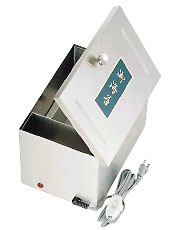 SA18-8 B型電気のり乾燥器[ヒーター式] 【 業務用 【 海苔缶 】