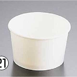 アイスクリームカップ PI-240N [1200入] 【 業務用 【 ストロー カップ 紙コップ関連品 】