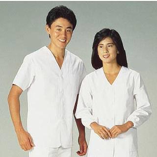 男性用調理衣 半袖 FA-322 LL 【 調理衣 ユニフォーム 】