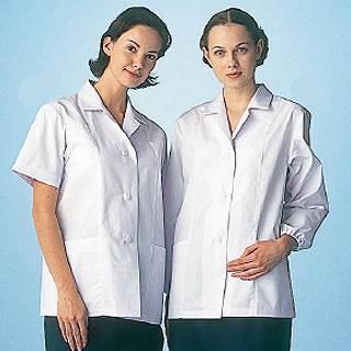 女性用調理衣 半袖 FA-337 S 【 調理衣 ユニフォーム 】