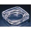 【まとめ買い10個セット品】『 灰皿 アッシュトレイ 』ガラス製 アルファー灰皿豆 204