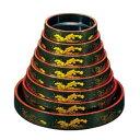 DX富士桶 グリーンパール大波 61010190 尺7 【 メーカー直送/代金引換決済不可 】 【 食器 すし桶 】