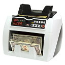 【まとめ買い10個セット品】 異金種検知機能付紙幣計数機 DN−700D