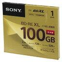 【まとめ買い10個セット品】録画用 BD-RE XL テレビ録画用書き換えタイプ(3層式) 1-2倍速対応 BNE3VCPJ2 1枚 ソニー