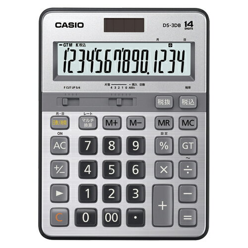 【まとめ買い10個セット品】電卓 DS-3DB 1台 カシオ