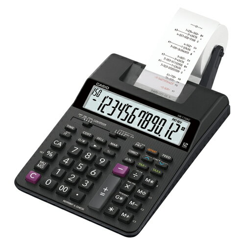 【まとめ買い10個セット品】電卓 HR-170RC-BK 1台 カシオ