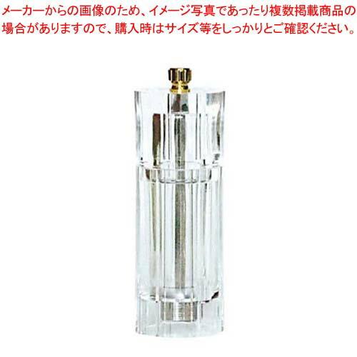 IKEDA アクリル ペパーミル(円筒型)APM-150【 ペパーミル 業務用 胡椒挽き 胡椒挽き 】