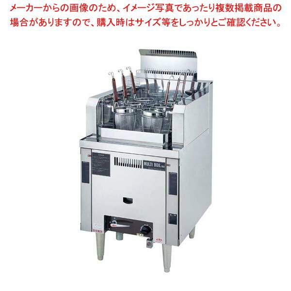 ガス式 自動 ゆで麺機 マルチ・ボイル NSU-6-60H 13A【 メーカー直送/後払い決済不可 】