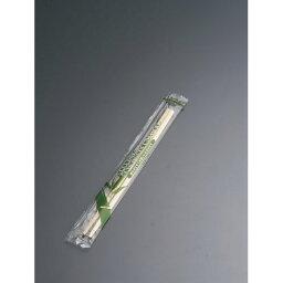 竹丸角 ポリ完封箸 楊枝入 20cm PK-016(100膳入)