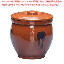陶器 蓋付ミニかめ(ソース入れ) 0.5号【焼き物器 うなぎたれかけ】