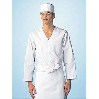 男性用調理衣 長袖 FA-320 L メイチョー