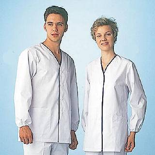 女性用デザイン白衣 長袖 FA-348M メイチョー