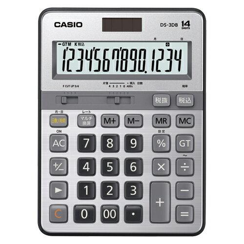 【まとめ買い10個セット品】電卓 DS-3DB 1台 カシオ【開業プロ】
