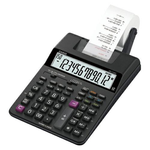 【まとめ買い10個セット品】電卓 HR-170RC-BK 1台 カシオ【開業プロ】