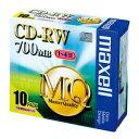 【まとめ買い10個セット品】PC DATA用 CD-RW パソコンデータ用書き換えタイプ 1-4倍速対応 CDRW80MQ.S1P10S 10枚 maxell【 PC関連用品 メディア メディア収納 CD-RW 】【開業プロ】