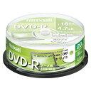 PC DATA用 DVD-R パソコンデータ用1回記録タイプ DVD-R 1-16倍速対応 DR47PWE.20SP 【メイチョー】