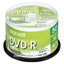 PC DATA用 DVD-R パソコンデータ用1回記録タイプ DVD-R 1-16倍速対応 DR47PWE.50SP 【メイチョー】