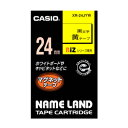 カシオ ネームランドマグネットテープ XR-24JYW 【メイチョー】