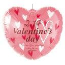 Valentines day バルーン1個 【バレンタインデー グッズ 飾り イベント 装飾】 【メイチョー】