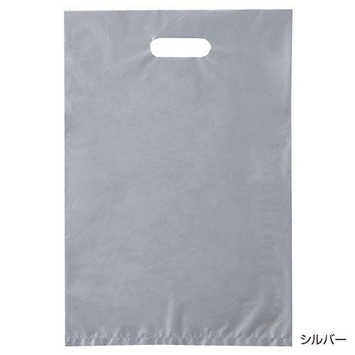 ポリ袋ハード型 カラー シルバー 50×60 500枚【店舗什器  小物 ディスプレー ギフト ラッピング 包装紙 袋 消耗品 店舗備品】