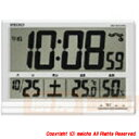 セイコークロック[株] SEIKO 大型液晶電波掛置兼用時計 SQ418S メイチョー
