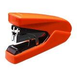 フラットクリンチホッチキス パワーフラット オレンジ HD-10DFL/OR マックス 【 事務用品 とじ つづり用品 ホッチキス 】