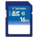 三菱ケミカルメディア SDHCカード 16GB CLASS10 インデックススペース付 SDHC16GJVB1 【厨房館】