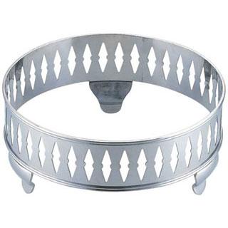 【まとめ買い10個セット品】【 業務用 】SW18-8 ダイヤ丸飾台 24インチ