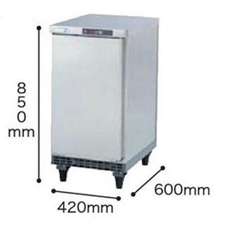 福島工業フクシマ幅420mm小型冷蔵庫TCC-042RE受注生産