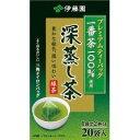 【 業務用 】伊藤園プレミアム深蒸し茶ティーバッグ1.8g×20
