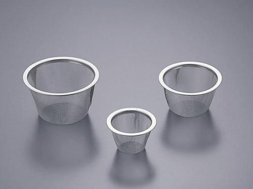 【 業務用 】【 茶こし 】茶こし 18-8急須用茶こしアミ 60号