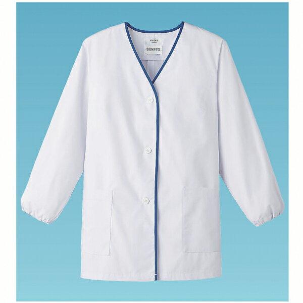 【 業務用 】女性用デザイン白衣 長袖 FA-348Mの商品画像