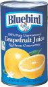 ブルーバードジュース グレープフルーツ(ホワイト) 1.36 L×12缶