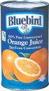 ブルーバードジュース オレンジ 1.36 L×12缶
