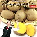 いんかのめざめ 送料無料 9kg 北海道産 じゃがいも ジャガイモ インカのめざめ 芋 送料込み ギフト 野菜ギフト