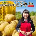 じゃがいも 2kg 送料無料 とうや 北海道産 羊蹄山麓産 M〜L サイズ混み ジャガイモ 芋 トウヤ 野菜ギフト 野菜 混みとうや