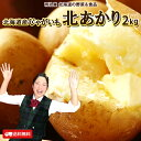 じゃがいも 送料無料 北あかり 2kg 北海道産 羊蹄山麓産 M〜Lサイズ 野菜ギフト 野菜