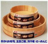 【国産品/産さわら材・銅タガ】 飯台 すしはんだい (30サイズ 約3合まで用)
