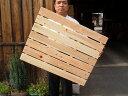 [domestic product] [point 5 times] [domestic hinoki] four durable feet! Wooden drainboard (seven pieces of width)