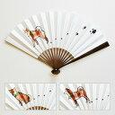 江戸扇子 ぽち 女持ち・男持ち 日本製 扇子 職人手作り Folding fan