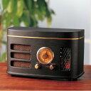 レトロ調真空管ラジオ